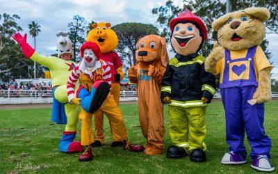 Charity Mascot Race
